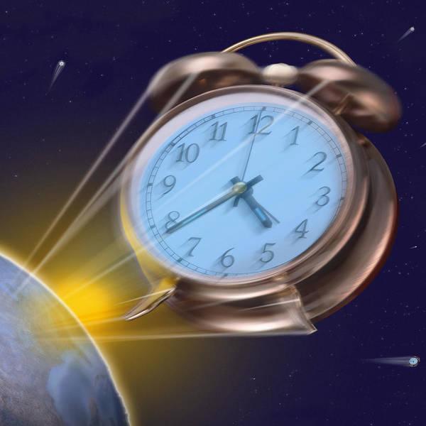 Alarm Clock Photograph - Alarming Reaction - Sq by Mike McGlothlen