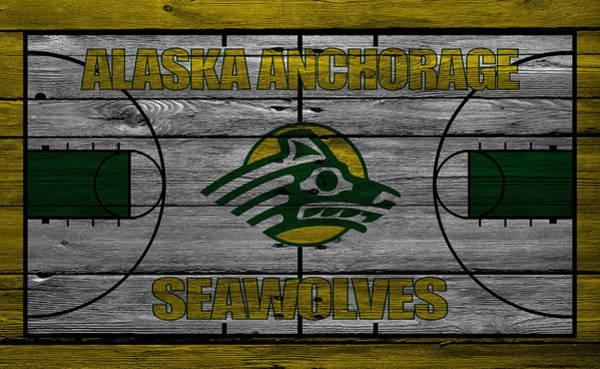 Anchorage Photograph - Alaska Anchorage Seawolves by Joe Hamilton