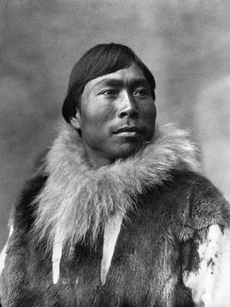 Photograph - Alaska Eskimo Man, C1903 by Granger