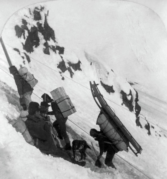 Painting - Alaska Miners, C1898 by Granger