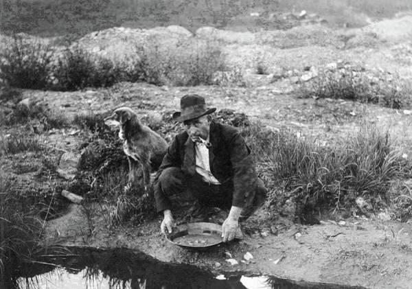Photograph - Alaska Mining, 1916 by Granger