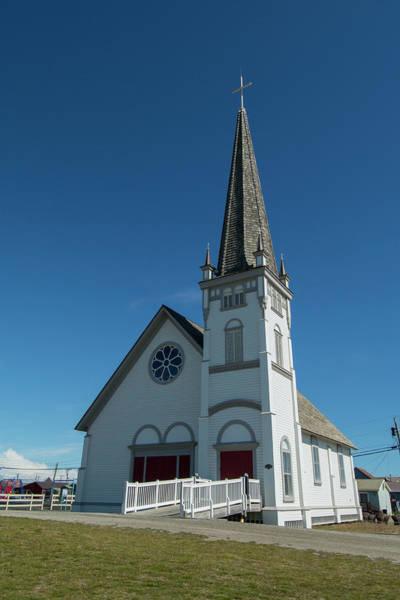 Anvil Photograph - Alaska, Nome Downtown Nome, Anvil City by Cindy Miller Hopkins