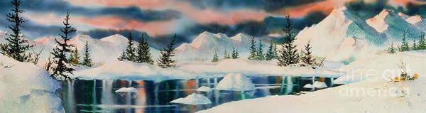 Wall Art - Painting - Alaska Panorama by Teresa Ascone