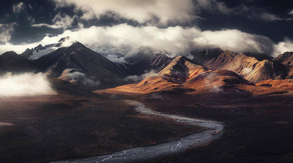 Wall Art - Photograph - Alaska Range by Jerrywangqian
