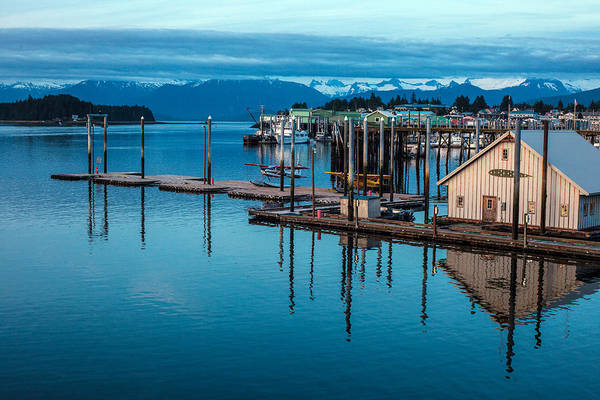 Petersburg Photograph - Alaska Seaplanes by Mike Reid