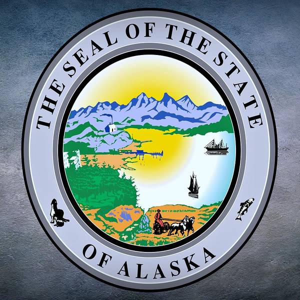Digital Art - Alaska State Seal by Movie Poster Prints