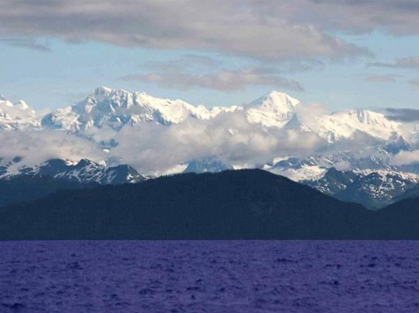 Alaskan Mountains Near Valdez Arm Art Print