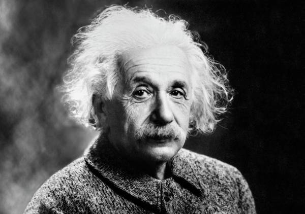 Wall Art - Photograph - Albert Einstein by Us Library Of Congress/science Photo Library