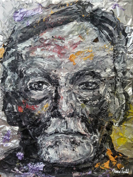 Serial Killer Painting - Albert Fish On Aluminum by Norman Twisted