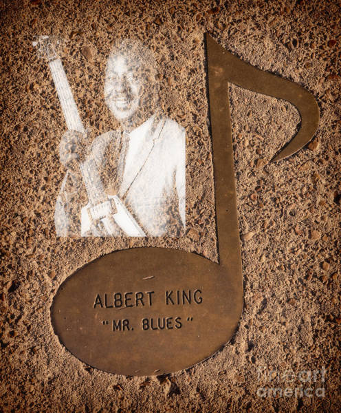 Photograph - Albert King Note by Donna Greene