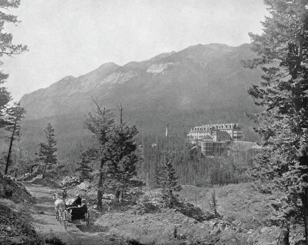 Photograph - Alberta Banff, C1890 by Granger