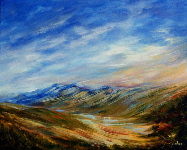 Painting - Alberta Moment by Joanne Smoley