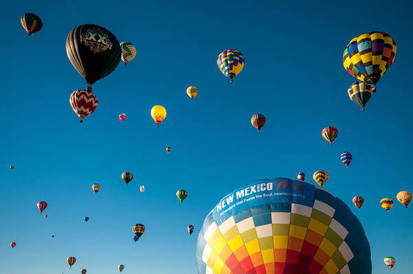 Photograph - Albuquerque Balloon Fiesta 12 by Lou  Novick