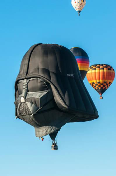 Photograph - Albuquerque Balloon Fiesta 4 by Lou  Novick