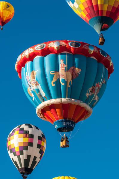 Photograph - Albuquerque Balloon Fiesta 5 by Lou  Novick
