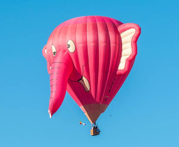 Photograph - Albuquerque Balloon Fiesta 6 by Lou  Novick