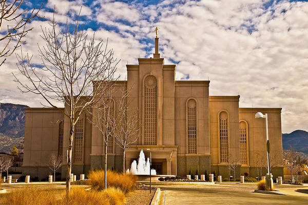 Nm Wall Art - Photograph - Albuquerque IIi Nm Temple by David Simpson