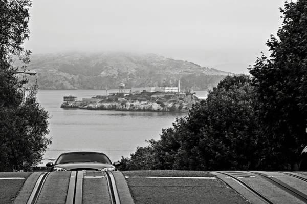 Photograph - Alcatraz Island From Hyde Street In San Francisco by RicardMN Photography
