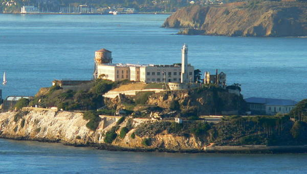 Photograph - Alcatraz Island by Jeff Lowe