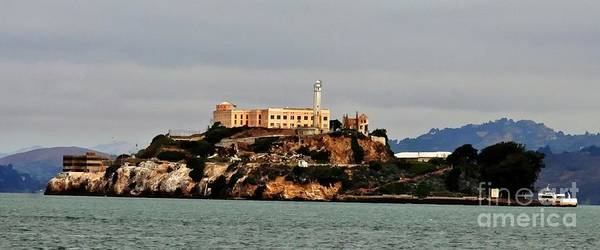 Anglin Wall Art - Photograph - Alcatraz Island - The Rock by Tap On Photo