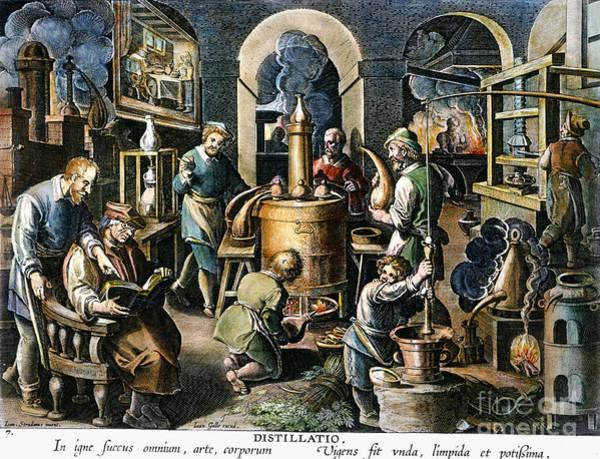 Photograph - Alchemy: Laboratory by Granger