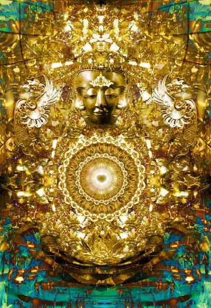 Digital Art - Alchemy Of The Heart by Jalai Lama