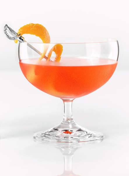 Cocktail Photograph - Alcohol Cocktail by Brian Macdonald
