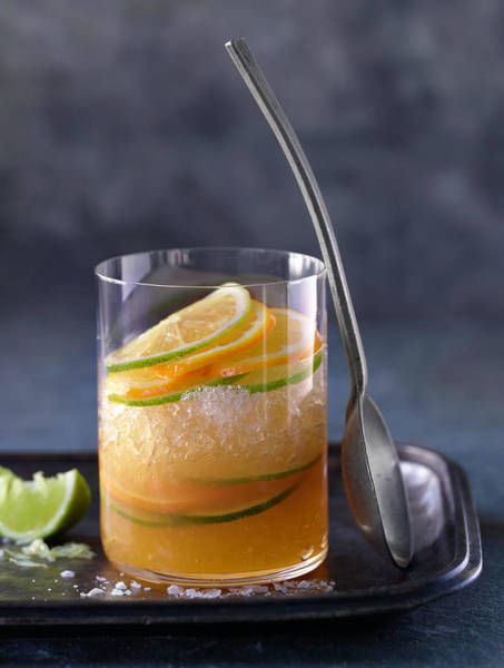 Cocktail Photograph - Alcohol Cocktails by Brian Macdonald