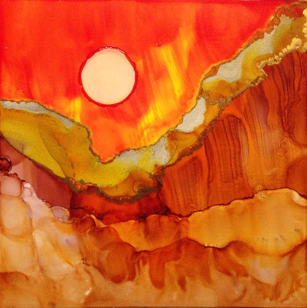 Painting - Alcohol Ink On Yupo #2 by Dennis Brady