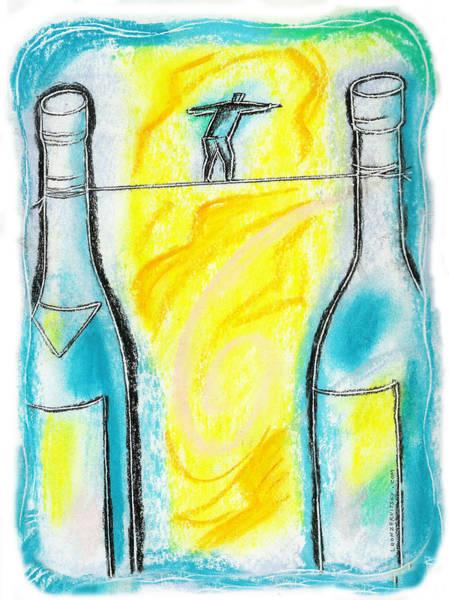 Addiction Wall Art - Painting - Alcoholism by Leon Zernitsky