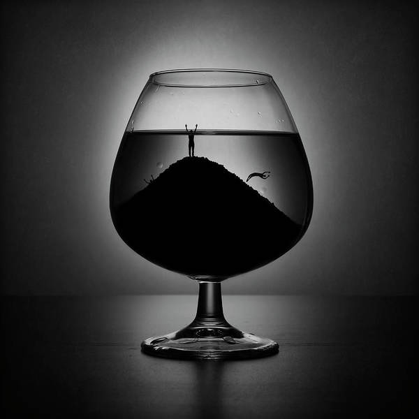 Wall Art - Photograph - Alcoholism by Victoria Ivanova