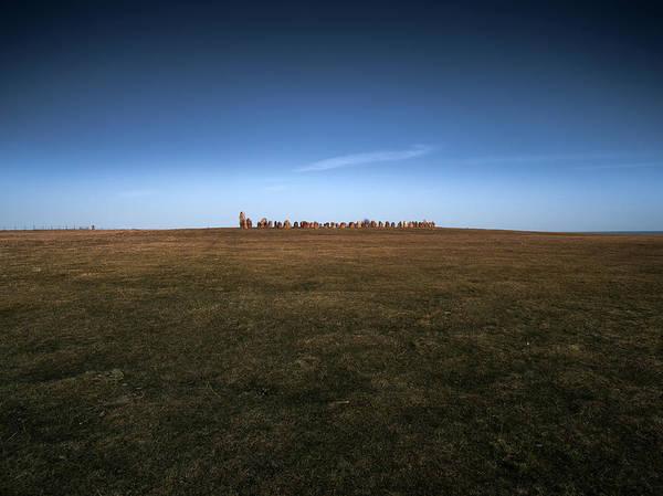 Skane Photograph - Ales Stones by Magnus Larsson