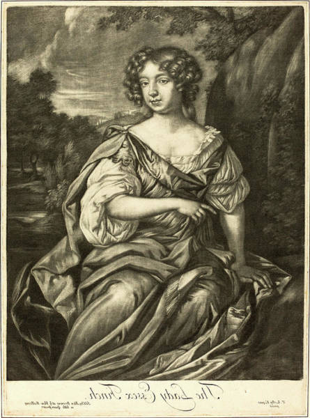 Wall Art - Drawing - Alexander Browne After Sir Peter Lely, British Active Late by Litz Collection