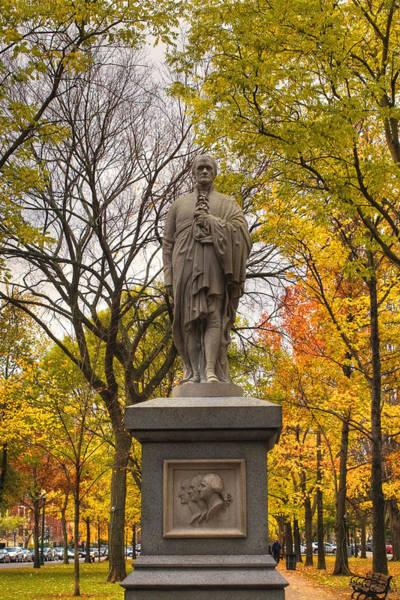 Photograph - Alexander Hamilton Statue by Joann Vitali