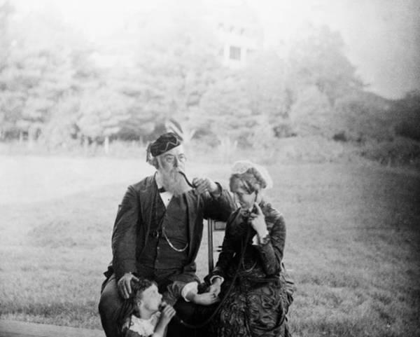 Melville Photograph - Alexander Melville Bell (1819-1905) by Granger