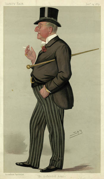 Wall Art - Drawing - Alexander Meyrick Broadley  Lawyer by Mary Evans Picture Library