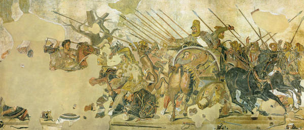 Painting - Alexander Mosaic by Pompeii