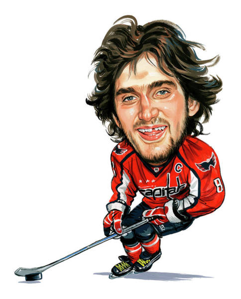 Wall Art - Painting - Alexander Ovechkin by Art