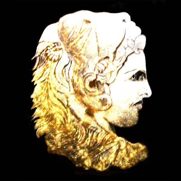 Macedonia Digital Art - Alexander The Great by Anastasios Aretos