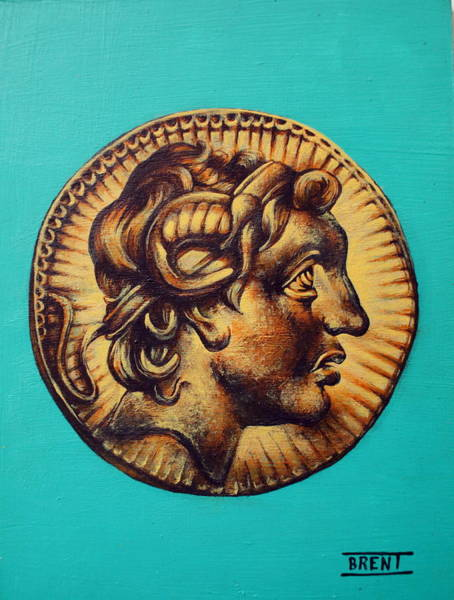 Alexander The Great Art Print