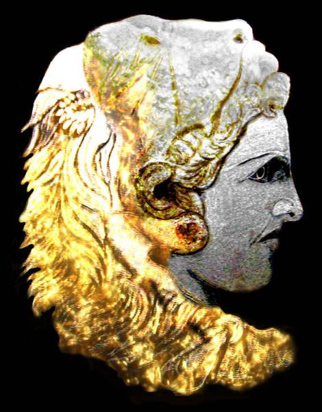 Macedonia Digital Art - Alexander The Great Part Four by Anastasios Aretos