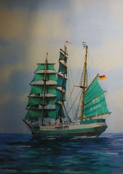 Painting - Alexander Von Humboldt by Val Byrne