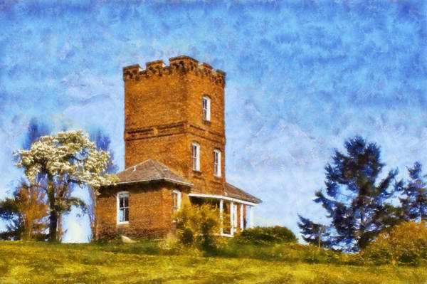 Port Townsend Digital Art - Alexanders Castle by Kaylee Mason