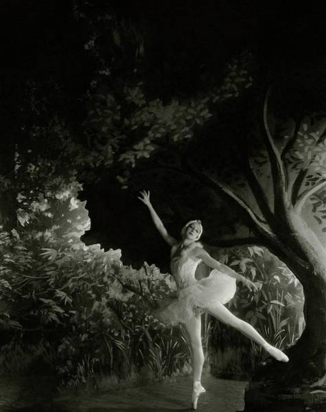 Wall Art - Photograph - Alexandra Danilova In Swan Lake by Cecil Beaton