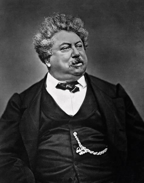 Alexandre Photograph - Alexandre Dumas by French Photographer