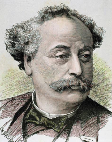 Alexandre Photograph - Alexandre Dumas (paris by Prisma Archivo