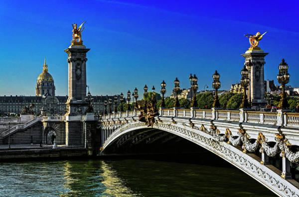 Invalides Photograph - Alexandre IIi Bridge In Paris, France by Bruno De Hogues