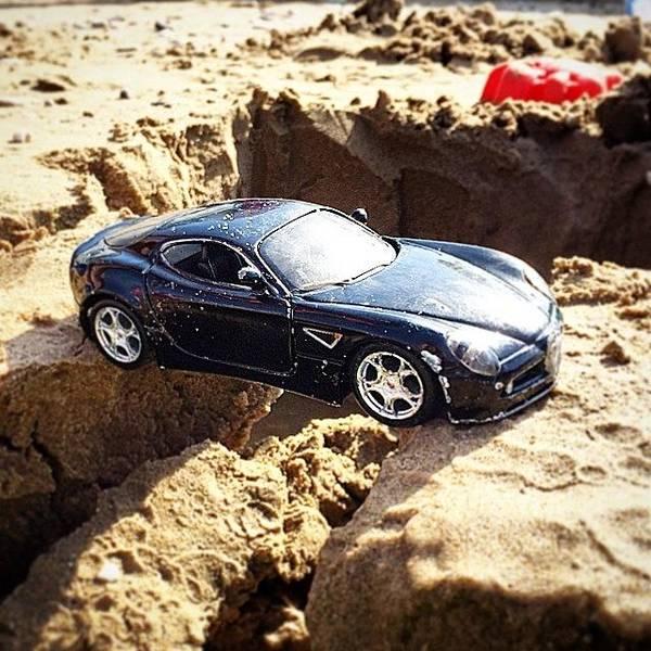 Alfa Romeo Photograph - Alfa In The Sand by Dario Marletta