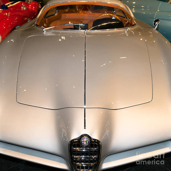 Photograph - Alfa Romeo Bat 9 Dsc02654sq by Wingsdomain Art and Photography