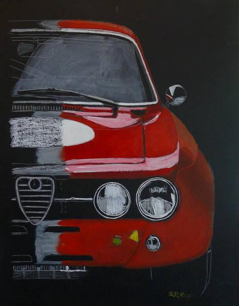 Painting - Alfa Romeo Gtv  by Richard Le Page